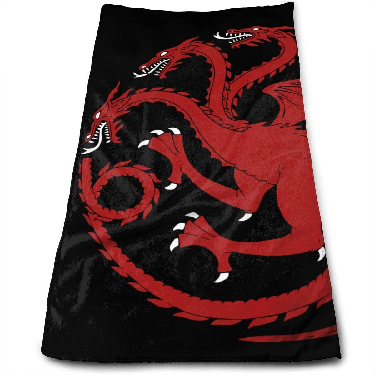 ~ Dragon Bath Hand Towels Dish Cloth Machine Washable Kitchen Towels Tea Towels for Drying Cleaning Cooking Baking