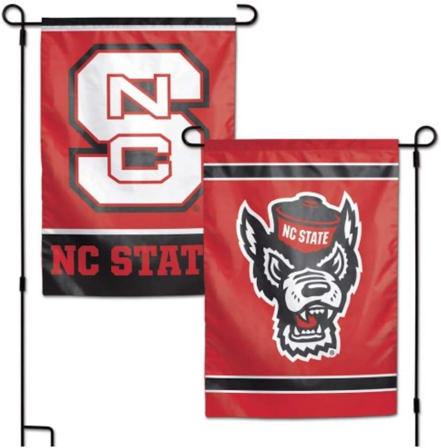 NCAA North Carolina State NCSU Wolfpack 12.5 x 18 Inch 2-Sided Garden Flag Logo
