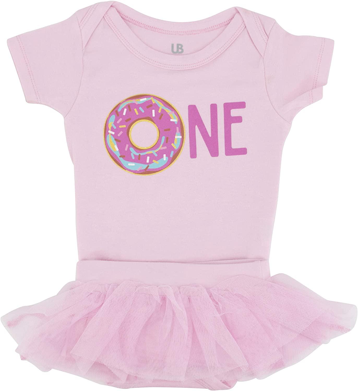 Unique Baby Girls My 1st Birthday Tutu Onesie Layette Set Outfit