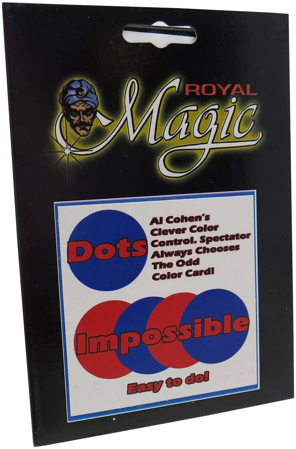 Al Cohens Dots Impossible - A Sleightless Magic Miracle Printed on Royal Playing Card Stock!