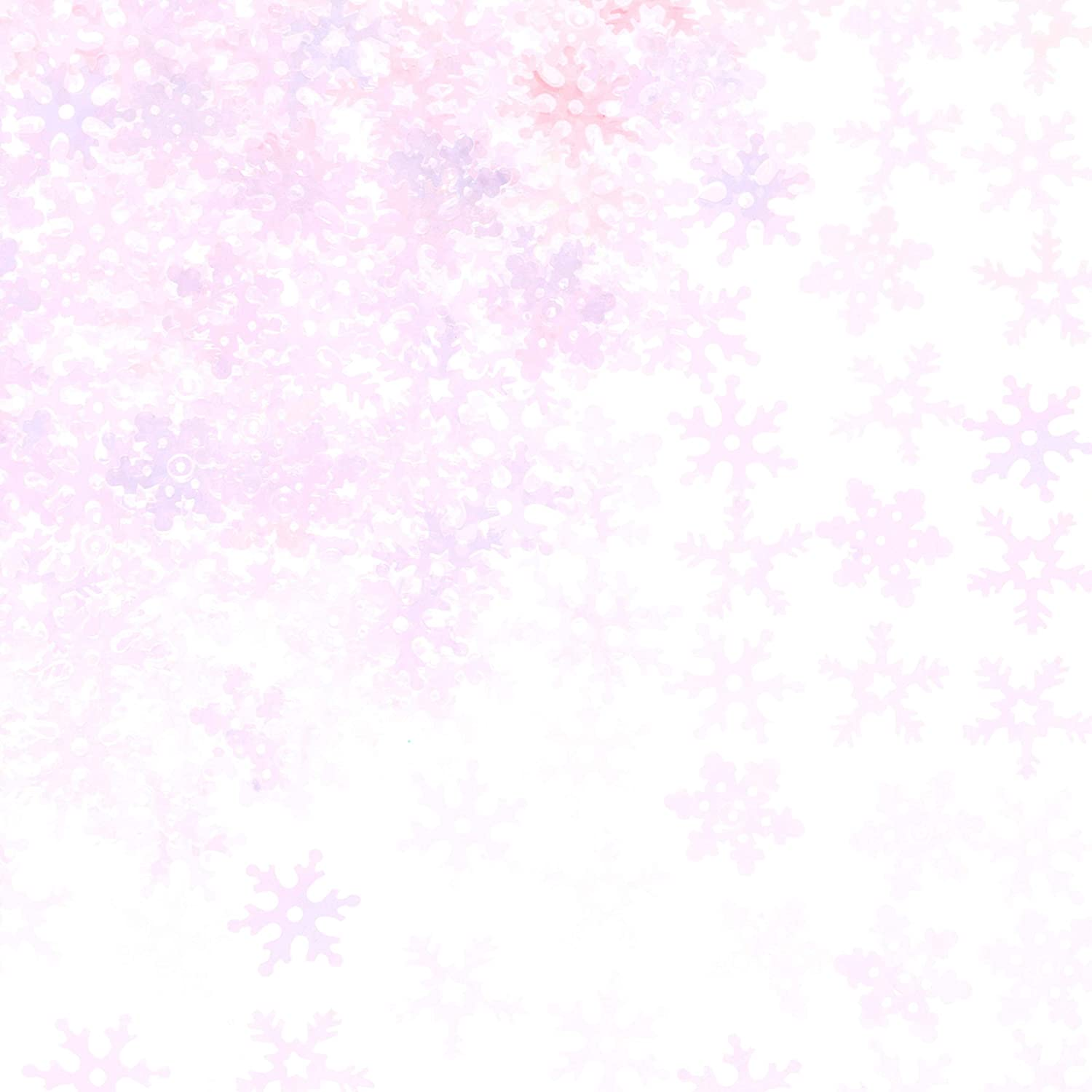 Iridescent Snowflakes Frozen Party Confetti - Winter Wonderland Birthday Baby Shower Wedding Foil Metallic Sequins Table Confetti Christmas Party Sprinkles Confetti Decorations, 60g