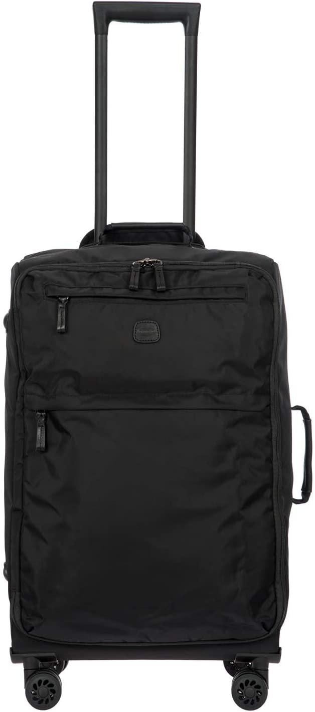 Bric's X-Bag/x-Travel 2.0 Ultralight 25 Inch Medium Spinner W/Frame, Black/Black