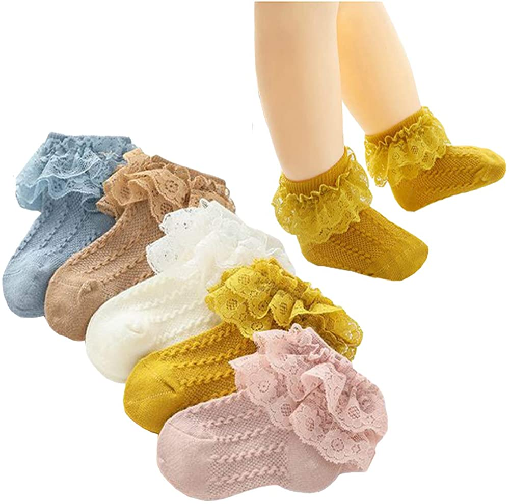 Lace Socks for Baby Girls