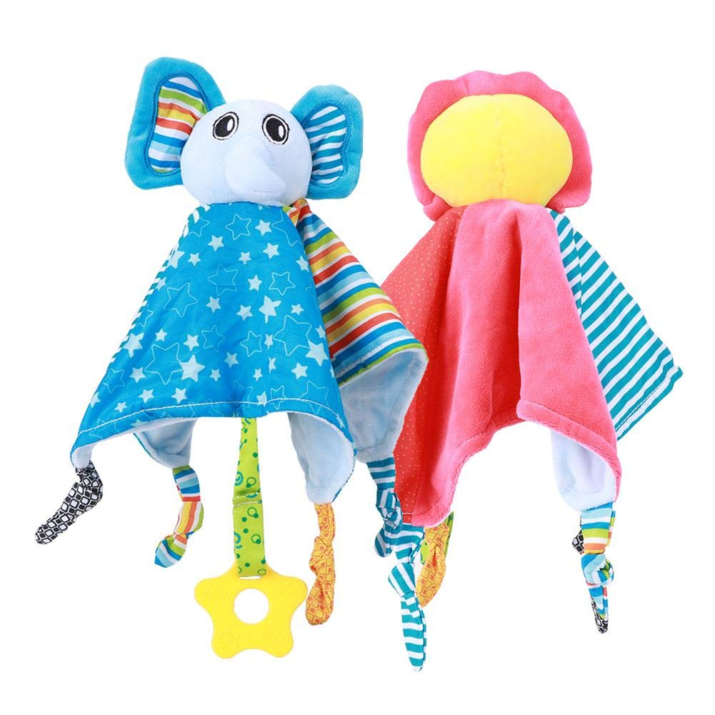 Washable Cartoon Animal Baby Soothing Towel, Appease Towel, Boys for Toddles Girls for Kids