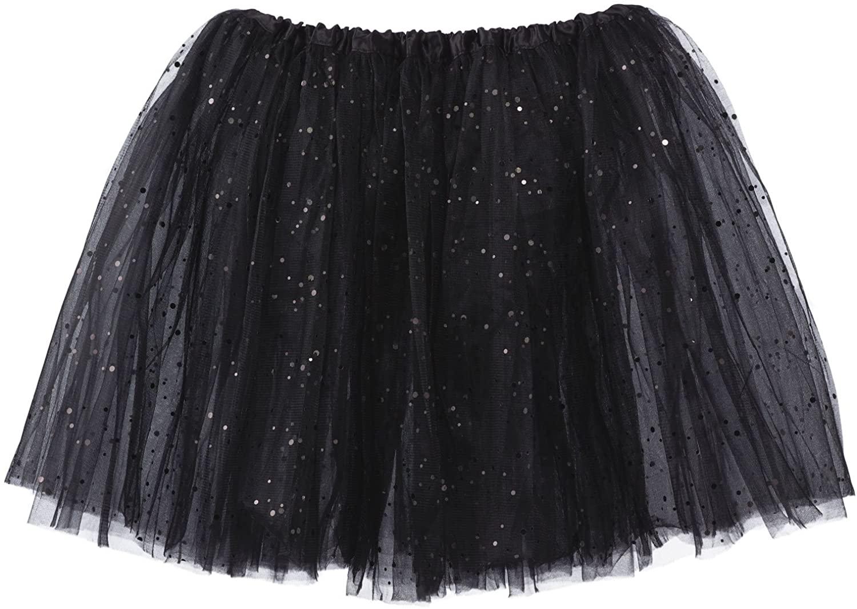 My Lello Big Girls Sparkle Tutu 3-Layer Ballerina (4T-8yr)