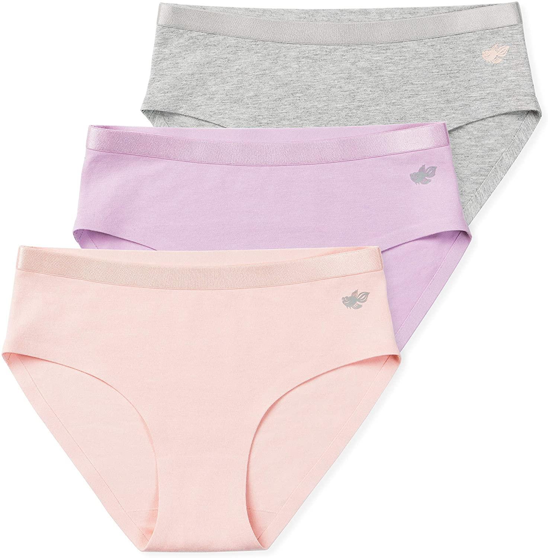 Lucky & Me | Bella Briefs | Children's Soft Cotton Tagless Underwear | 3-Pack