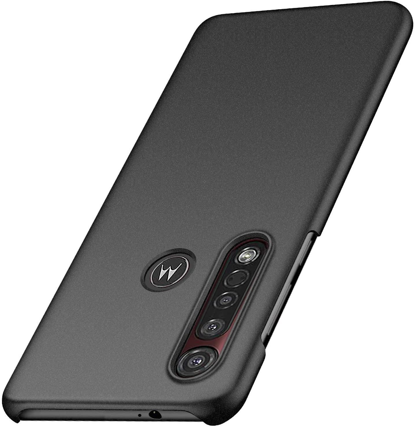 Yipmai Compatible with Motorola Moto G8 Plus Case, 0.03 Inch Ultra Thin Ultra Slim Hard PC Plastic Protective Case for Motorola Moto G8 Plus (Matte Black)