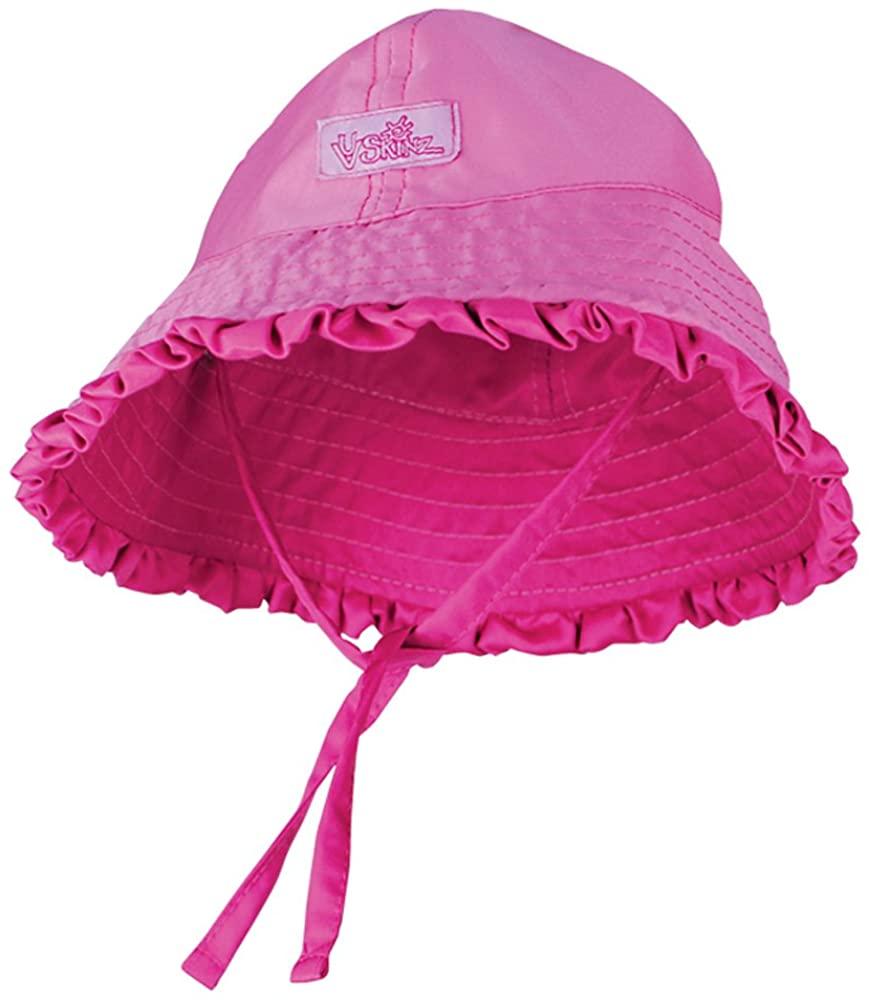 UV Skinz Baby Girls' UPF 50+ Reversible Sun Hat – Sun-Blocking Hat for Infants