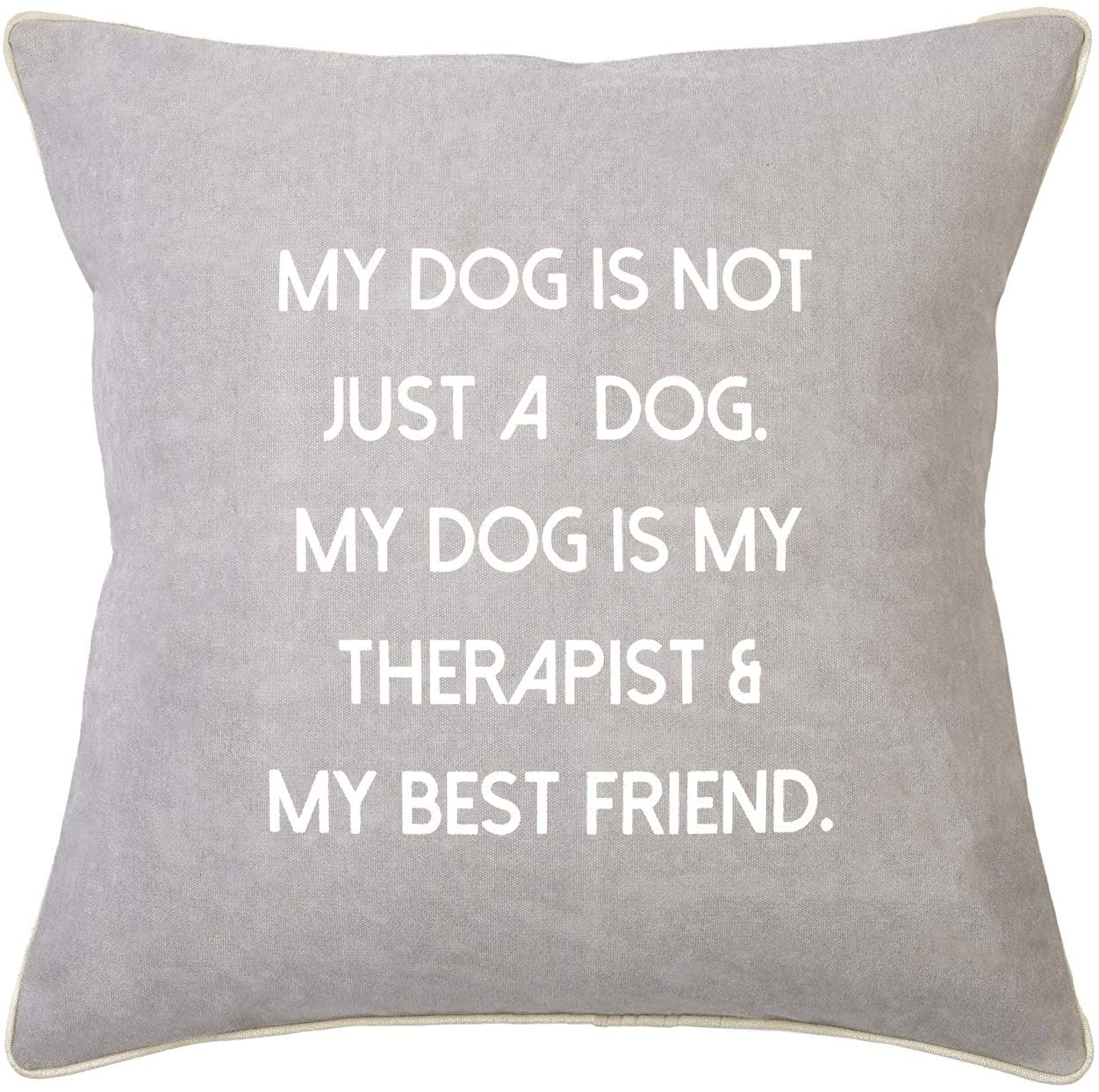 Mona B. Pup Pal Upcycled Decorative Pillow with Insert MH-427