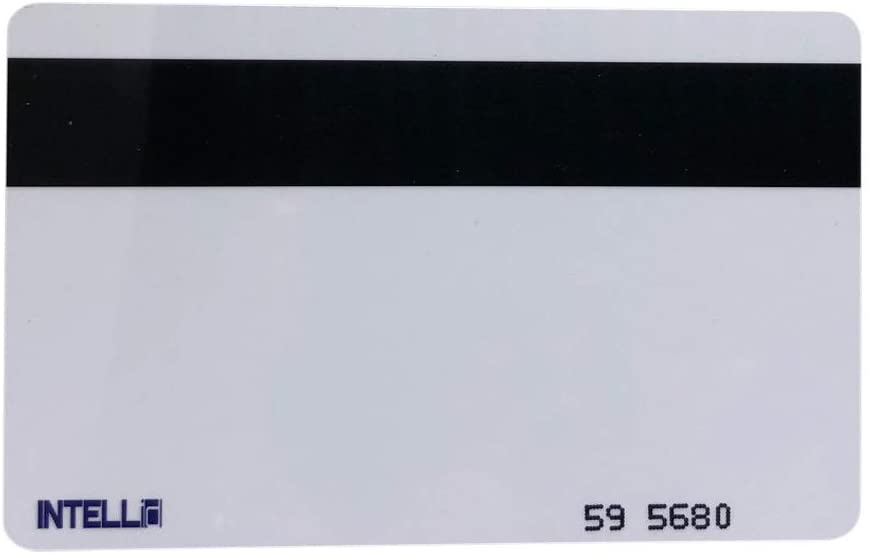 50 CR80 Magstripe 26 Bit Proximity Cards Hi-co Weigand Prox Blank Printable Magnetic Strip Swipe Cards Compatible with ISOProx 1386 1326 H10301 Format. These Works with Most Security Systems