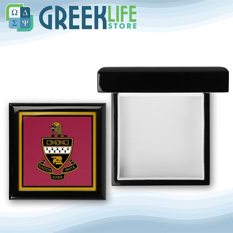 greeklife.store Kappa Alpha Theta Wooden Keepsake Box