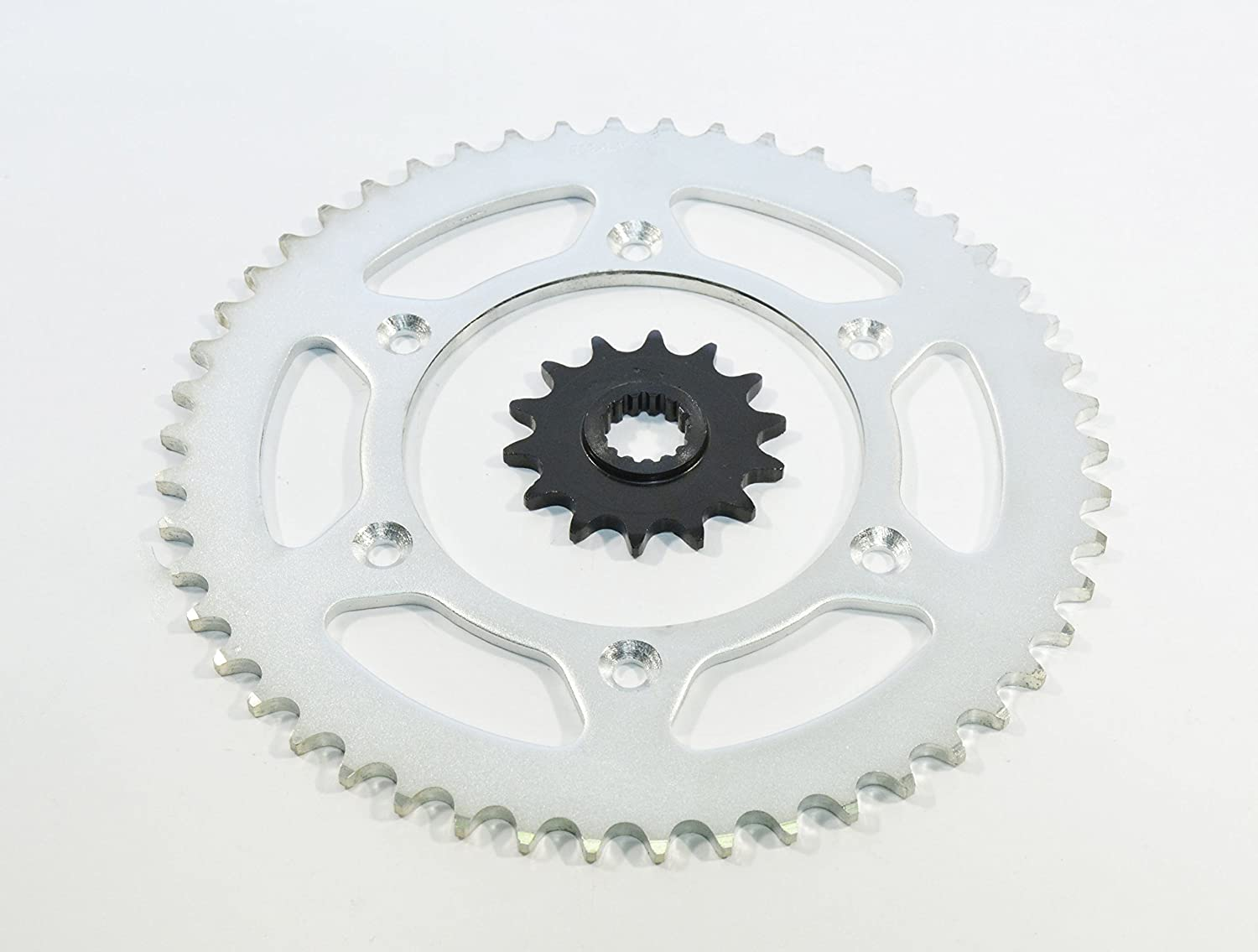 1999-2007 fits KTM 400 SX 400 14 Tooth Front And 50 Tooth Rear Sprocket