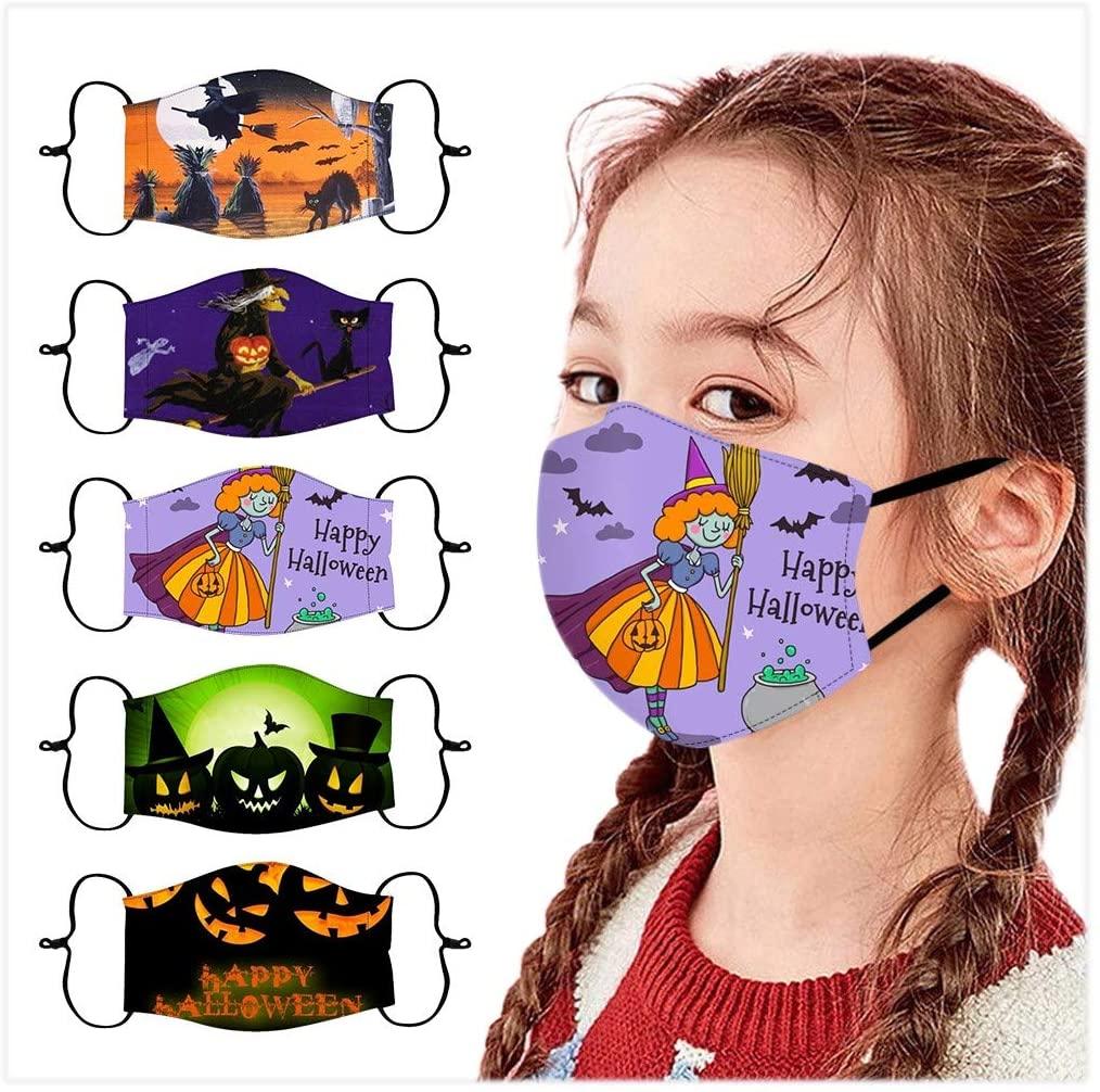 KYLEON Kids Children Daily Use Halloween Print