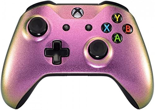 Xbox One Wireless Controller for Microsoft Xbox One - Custom Soft Touch Feel - Custom Xbox One Controller (Pink Chameleon)