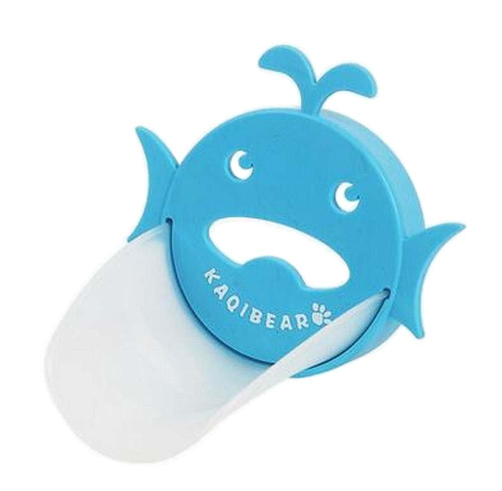 [Blue Whale] Lovely Cartoon Faucet Extender Sink Handle Extender for Kids