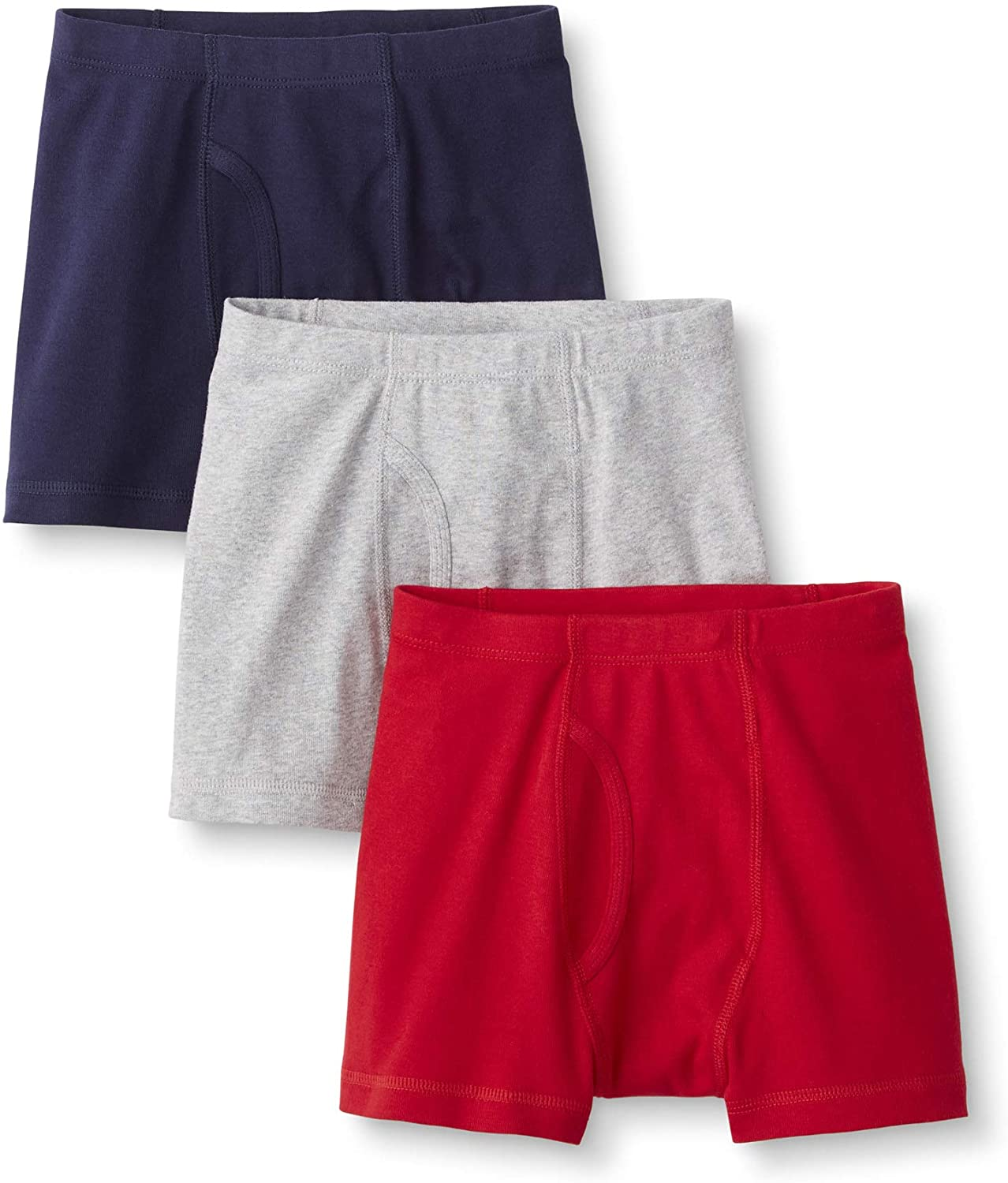 Hanna Andersson Boys Boxer Briefs in Organic Cotton, 3-Pack