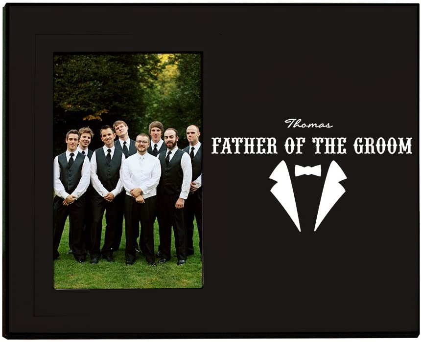 GiftsForYouNow Groomsmen Printed Frame, Father of The Groom