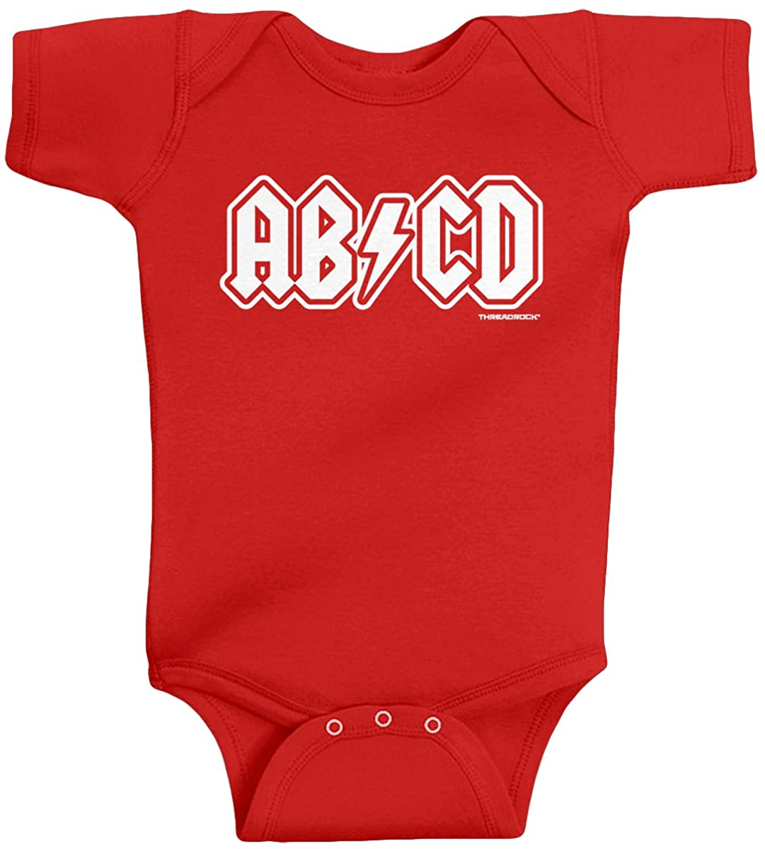 Threadrock Unisex Baby ABCD Bodysuit
