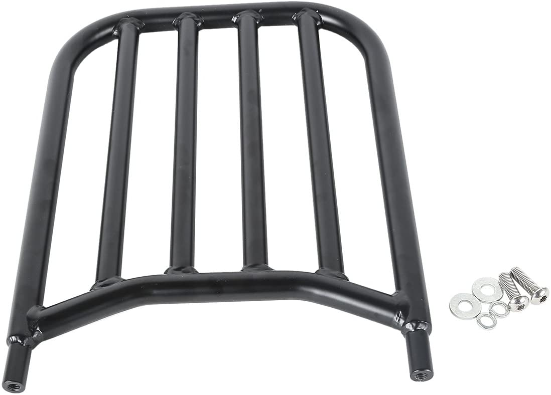 XMT-Moto Backrest Sissy Bar Luggage Rack fits for Indian Chief Chieftain Challenger Springfield 2014-2020,Black
