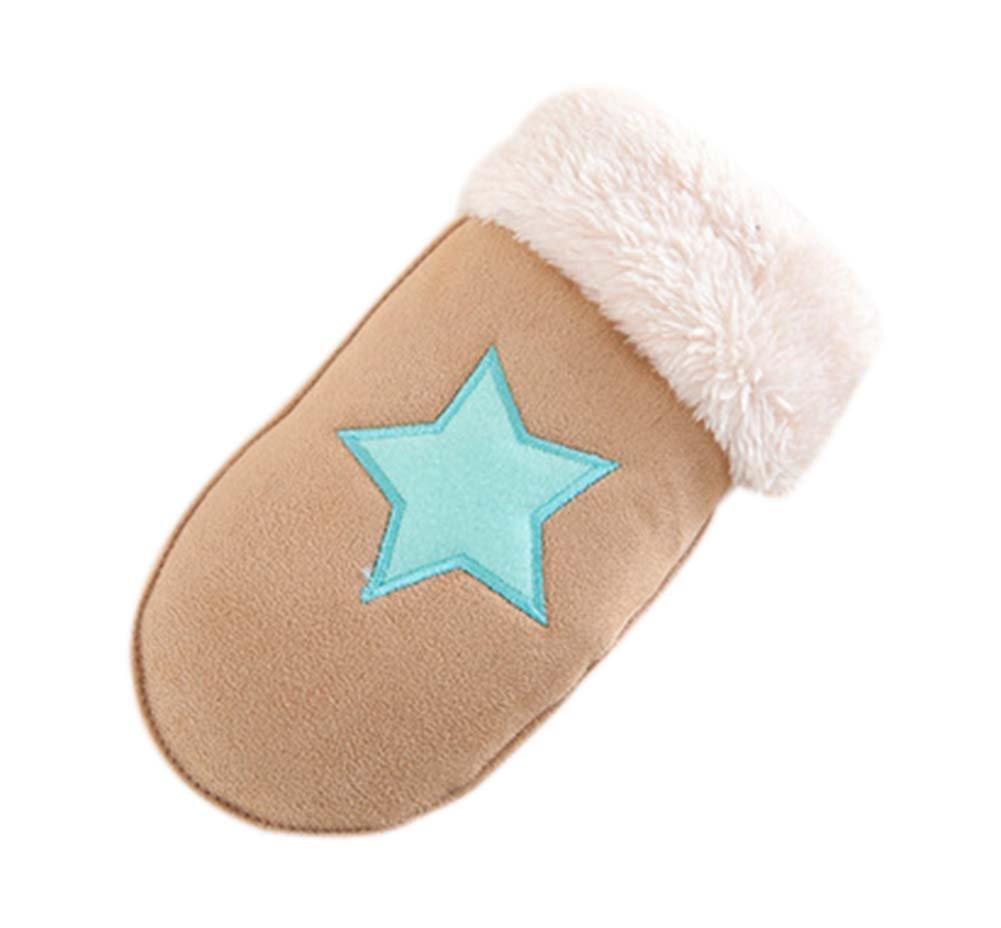 Children Gloves Fashionable Gloves Warm Winter Mittens Plush Gloves Cute Gloves