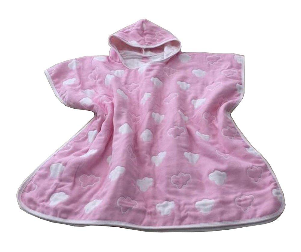 Soft Cotton Baby Hooded Bath Towel Cloak Bathrobe for Kids Cloud