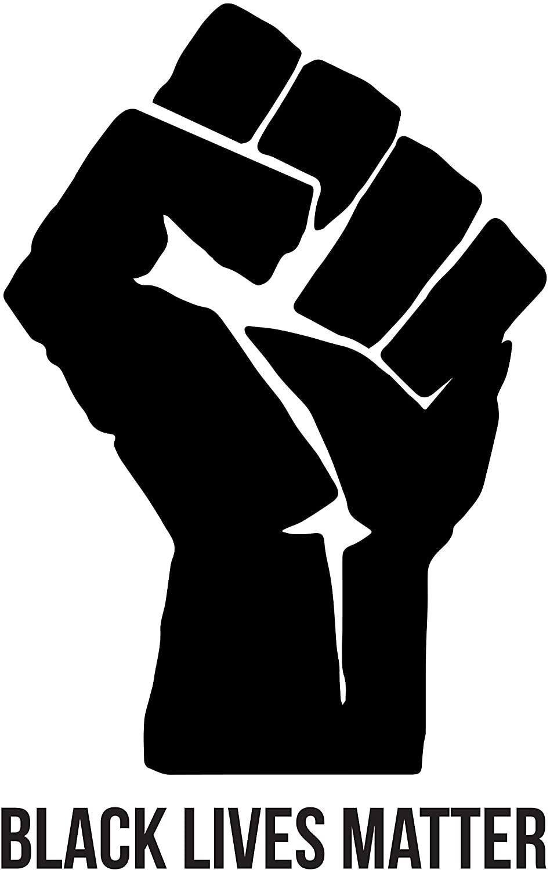 Heat Transfer Vinyl - Black Lives Matter Fist - 9