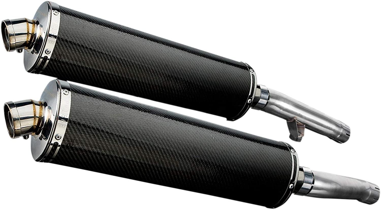 Delkevic Aftermarket Slip On compatible with Yamaha FJ1200 3CV 18