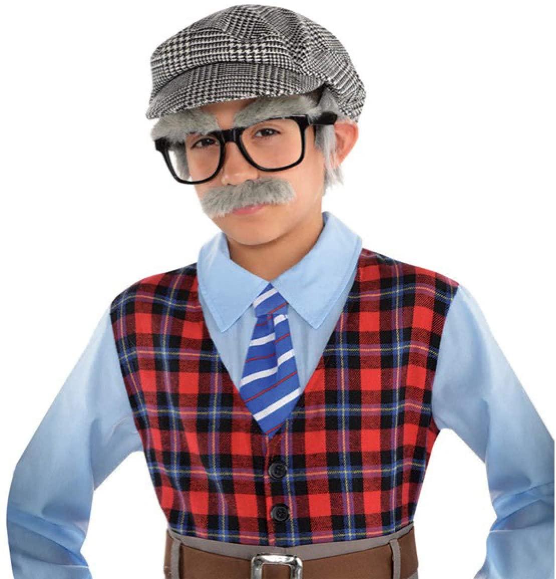 Child Grandpa Costume Accessory Kit | 2 Ct