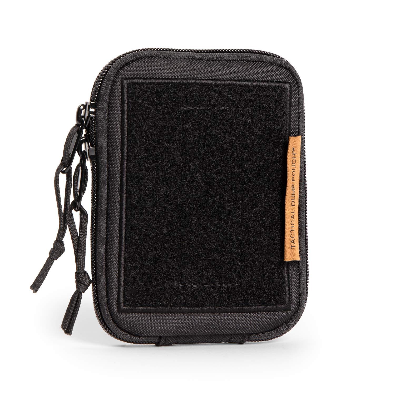 TBG - Dirty Diaper Dump Pouch for Tactical Diaper Bag - Removable & Washable (Black)