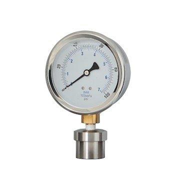 Cole-Parmer Industrial Pressure/Process Gauge, 4