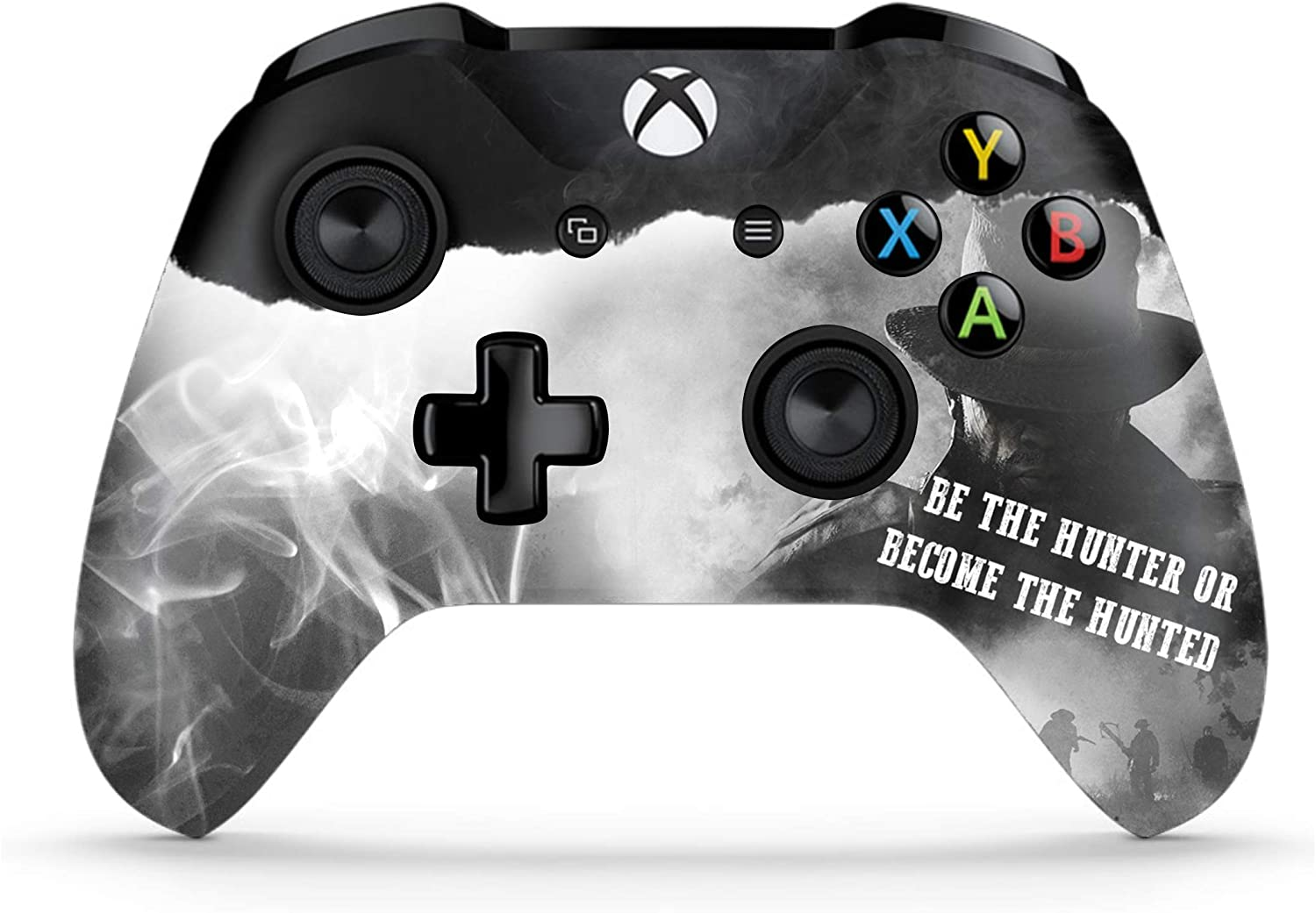 DreamController Modded Xbox One Controller - Xbox One Modded Controller Works with Xbox One S/Xbox One X/and Windows 10 PC - Rapid Fire and Aimbot Xbox One Controller with Included Mods Manual