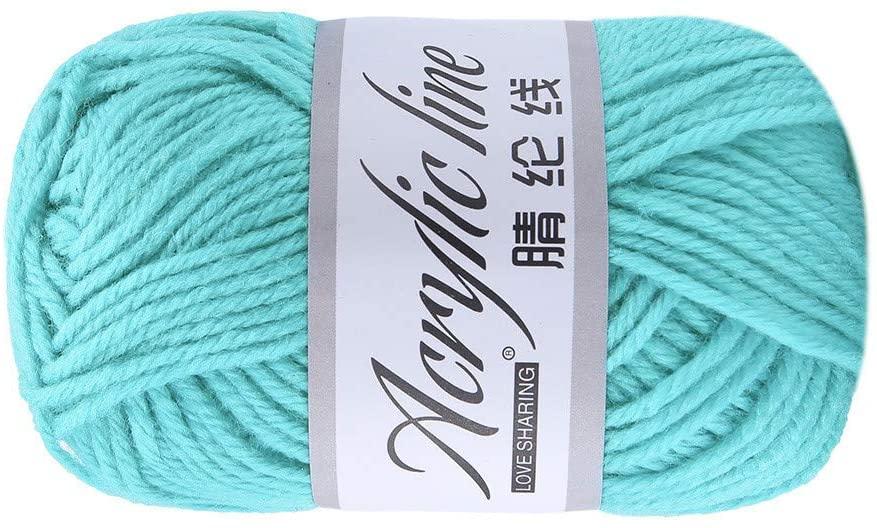 Clearance Sale !! Wool Yarn,PC 50g Chunky Bulky Acrylic & Wool Crochet Yarn Knitting Yarn Knitting Crochet Yarn for Crochet, Knitting & Crafting (J)