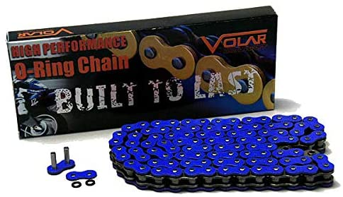Volar O-Ring Chain - Blue for 2018-2020 Triumph Bonneville 1200 Bobber