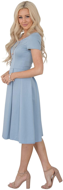 Jen Clothing Bryn Modest Bridesmaid Dress or Modest Dress
