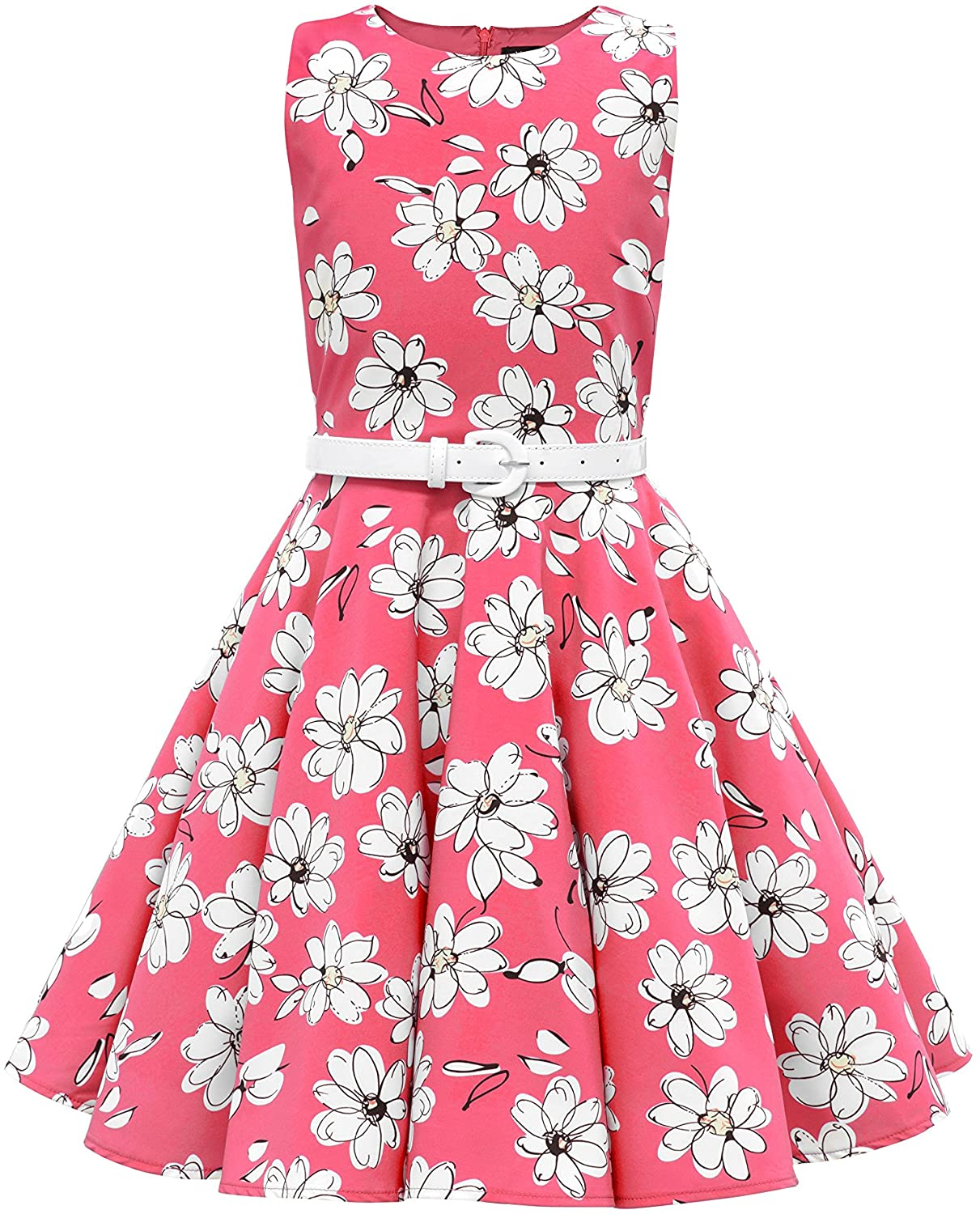 BlackButterfly Kids 'Audrey' Vintage Daisy 50's Girls Dress