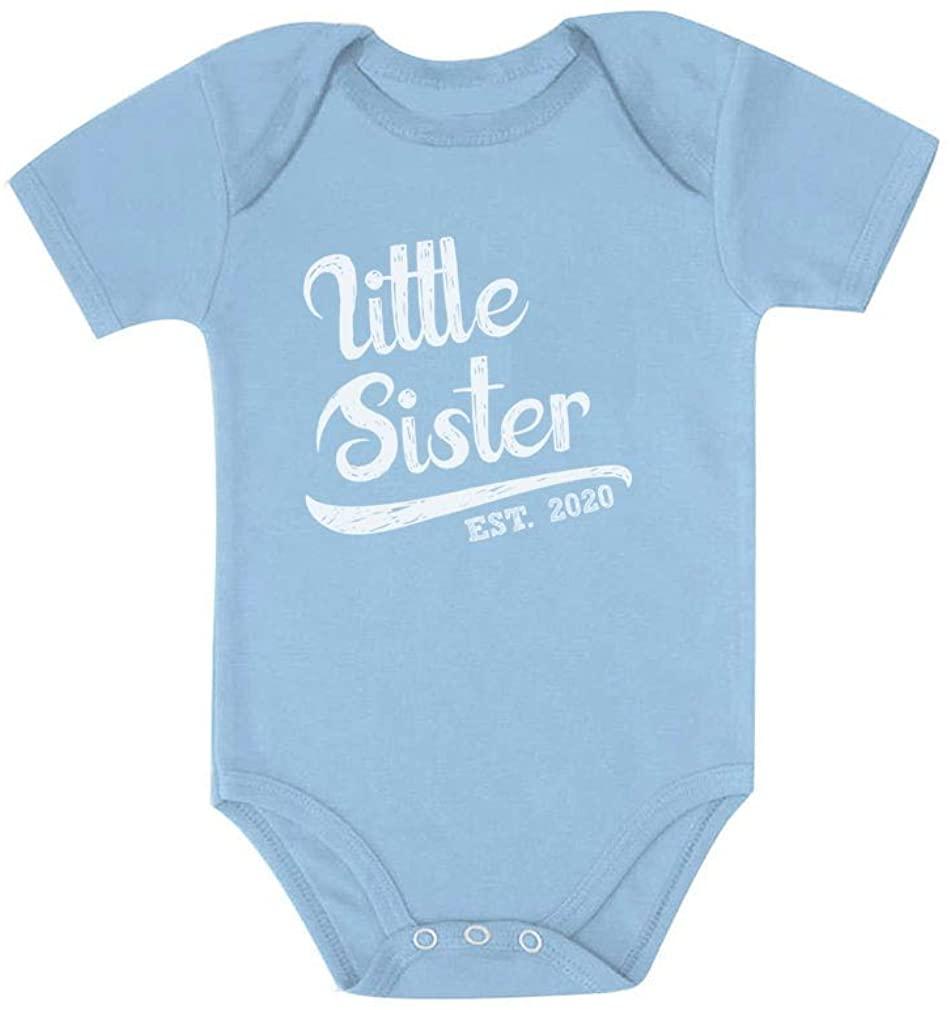 Tstars Little Sister 2020 for Baby Girl Baby Bodysuit