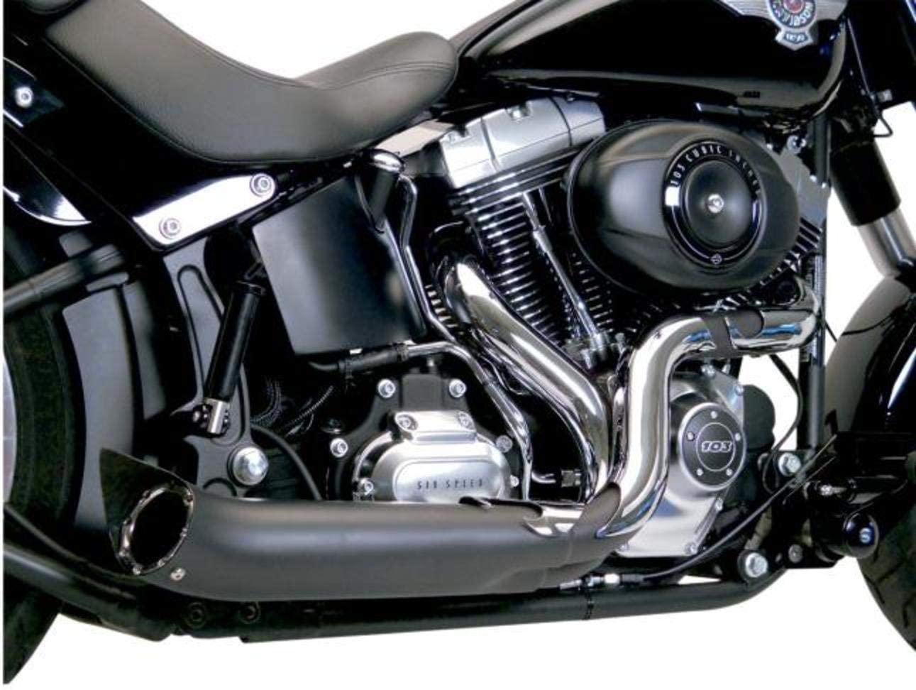 SuperTrapp Phantom II Exhaust System - Black , Color: Black 138-71680