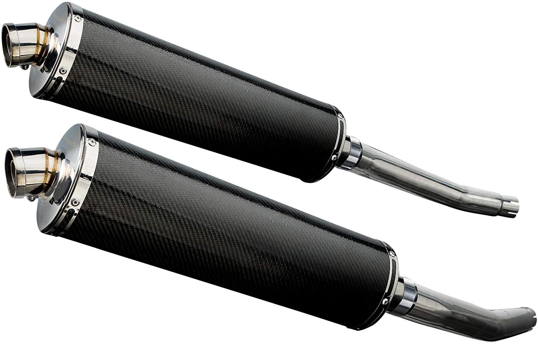 Delkevic Aftermarket Slip On compatible with Suzuki Hayabusa GSXR130018