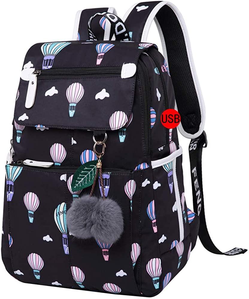 Bookbag for Teen Girls outdoor travel backpack Water-Resistant Lightweight