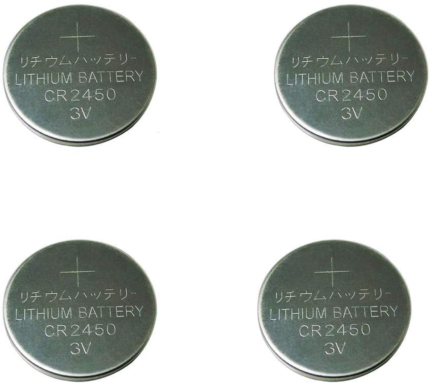 CR2450 3V Lithium Button Cell Battery for Dive Computer,Flameless Candles (10)