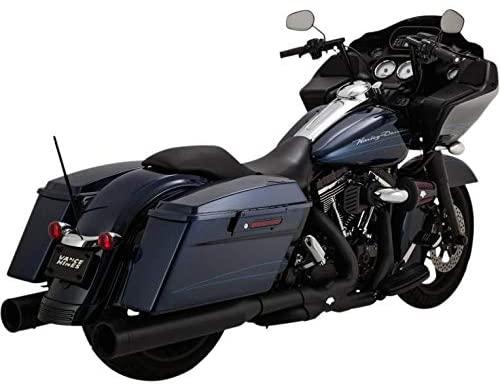 Vance & Hines Power Duals Head Pipes - Black, Color: Black, 46832