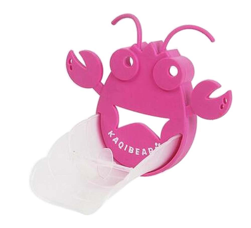 [Pink Lobster] Cute Cartoon Faucet Extender Sink Handle Extender for Kids