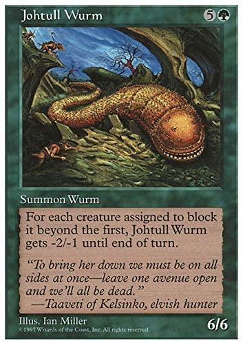 Magic The Gathering - Johtull Wurm - Fifth Edition