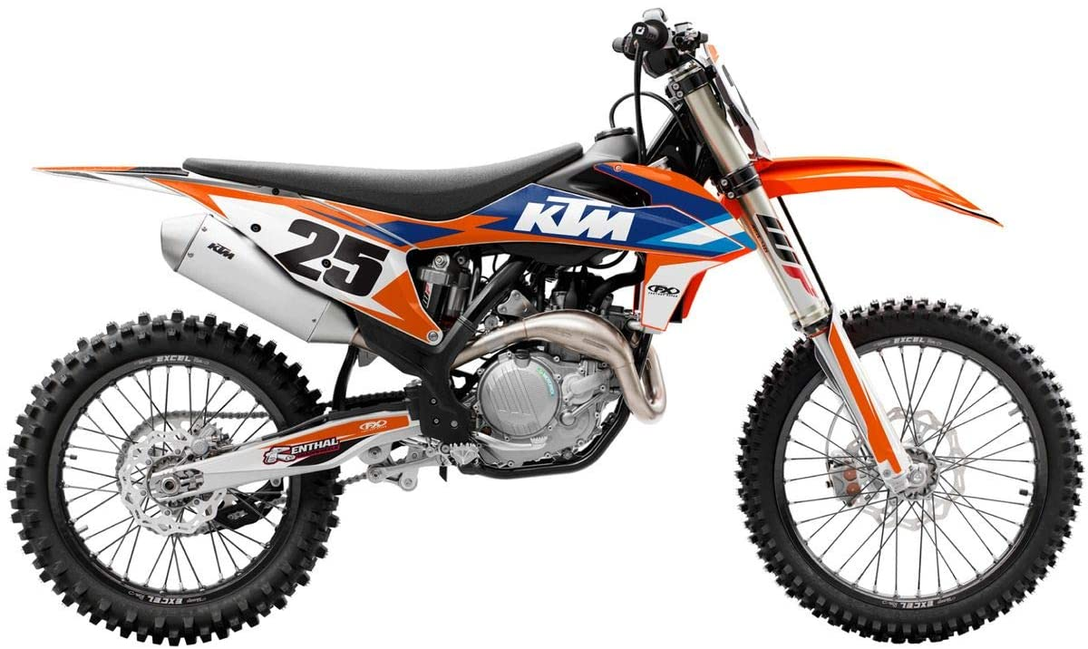 Factory Effex EVO 16 Shroud Graphic Kit - KTM for 09-15 KTM 65SX