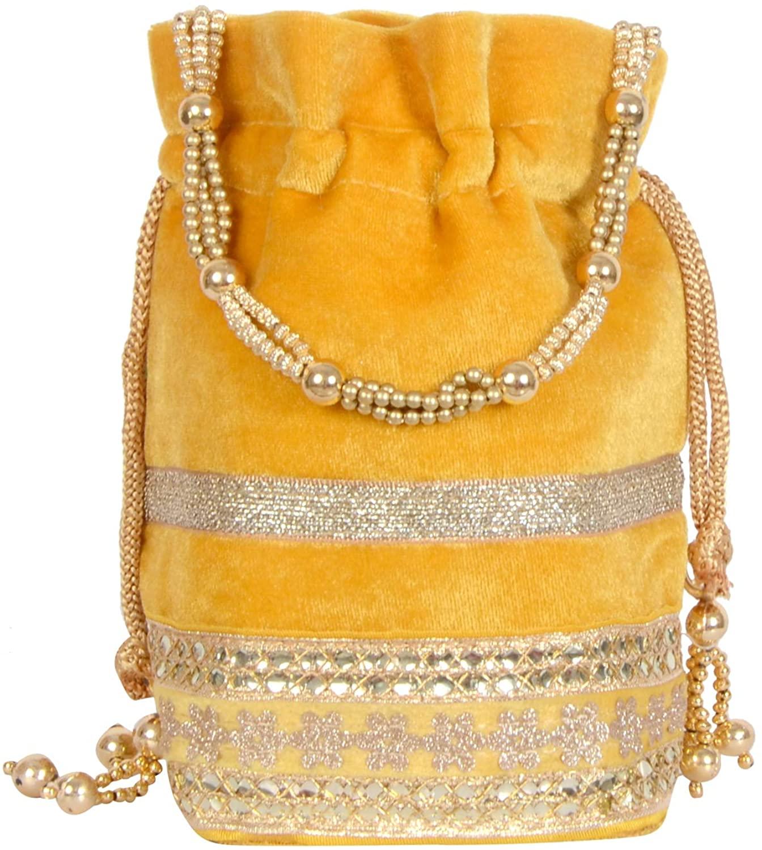 indain purse Bag Clutch Ethnic Handbag Traditional potli Batwa Clutch