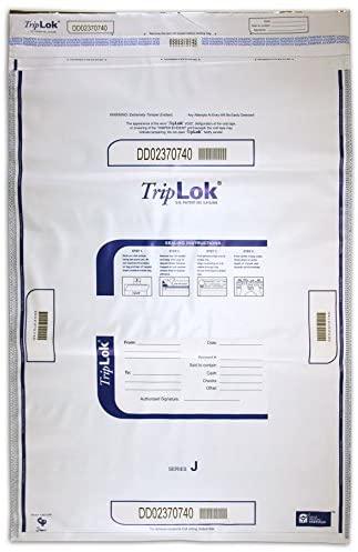 TRIPLOK 22 X 30 Currency Deposit Bag (White)