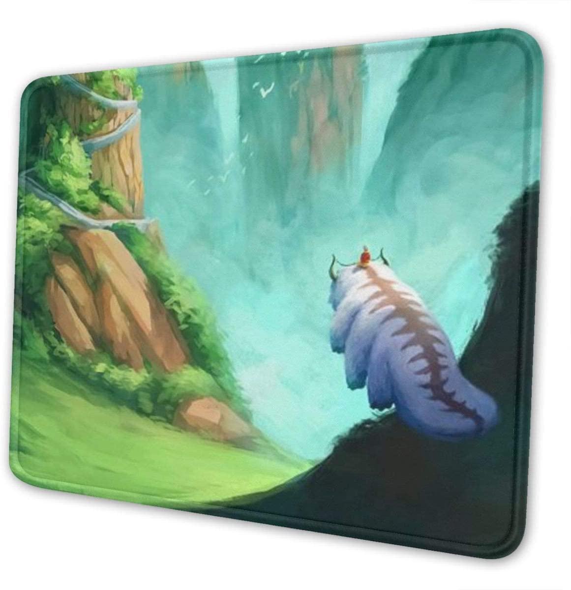 Avatar The Last Airbender Mouse Pad Ergonomic Mousepad Non-Slip Rubber Base Mouse Pads for Computers Laptop Office Desk Accessories Mouse Pad 10 X 12 Inch