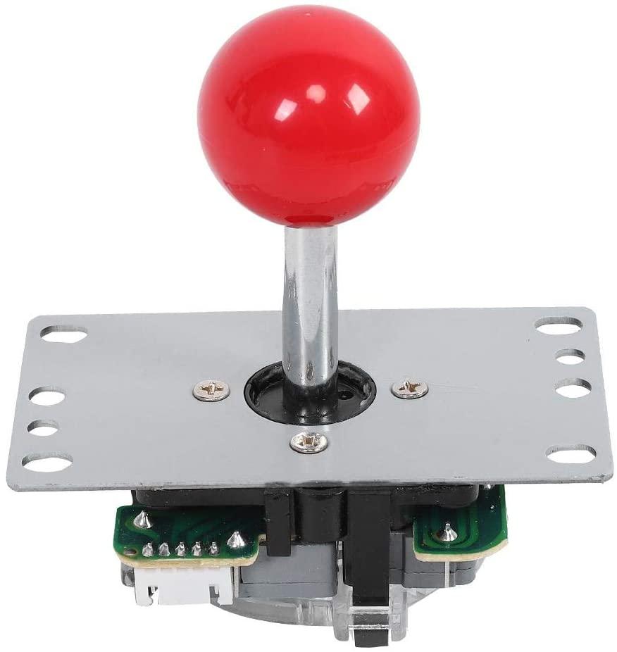 Sutinna DIY Arcade Game Joystick, USB Computer Chip Plastic + Hardware Arcade Joystick, for PS3 Console Gamepad