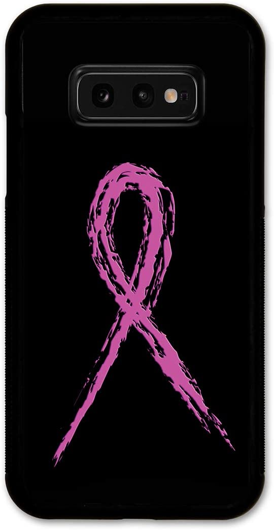 Cell Phone Cover - Slim Fit - Compatible with Samsung Galaxy S10e - Breast Cancer Awareness