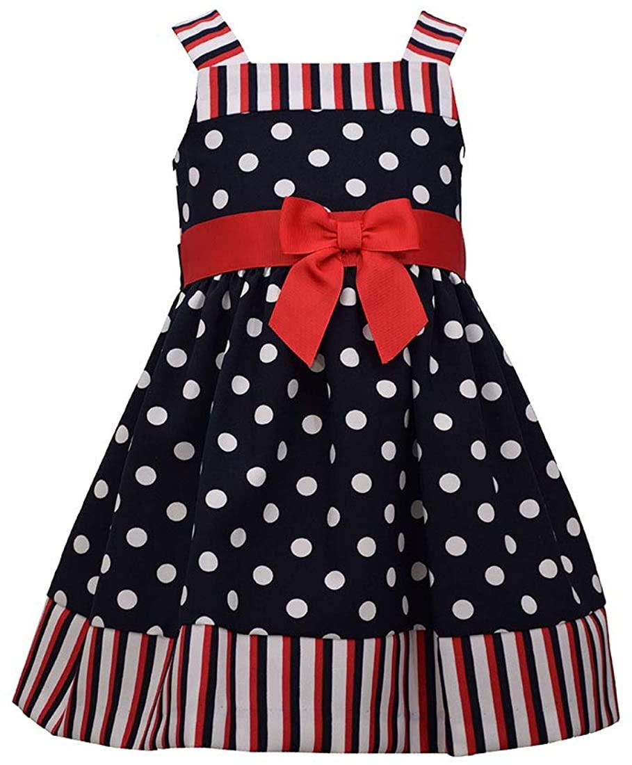 Bonnie Jean Girl's Dress - 4th of July Americana Nautical